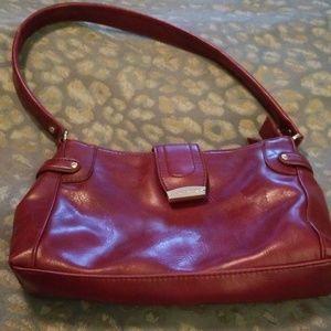 Liz Claiborne Dark Red Handbag